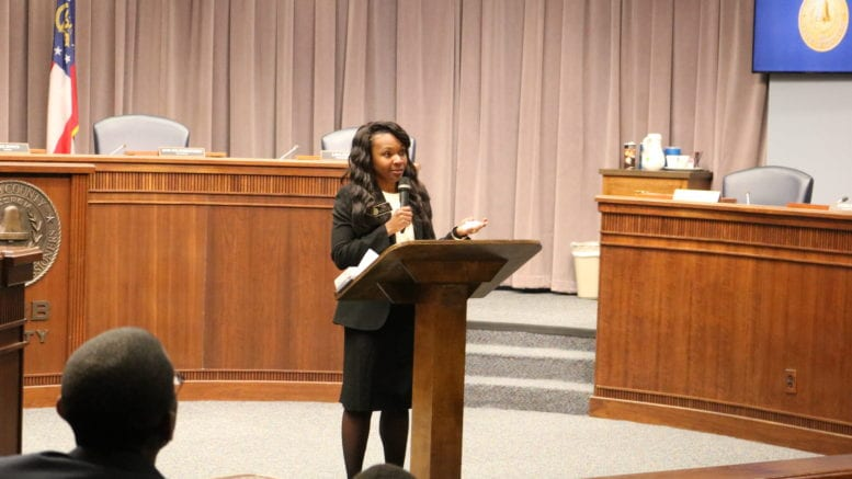 Cobb County District 4 Commissioner Lisa Cupid in article about water treatment facility failure