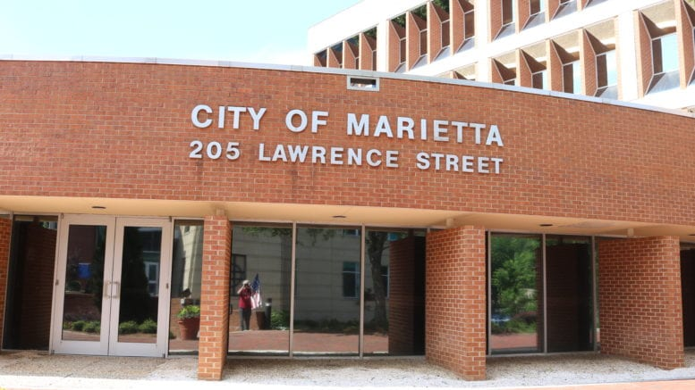 Marietta City Hall in article about Marietta Museum of History pop-ups
