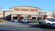 me DeHHome Depot sales report illustrated by. the photo of The Home Depot store on Cumberland Parkway