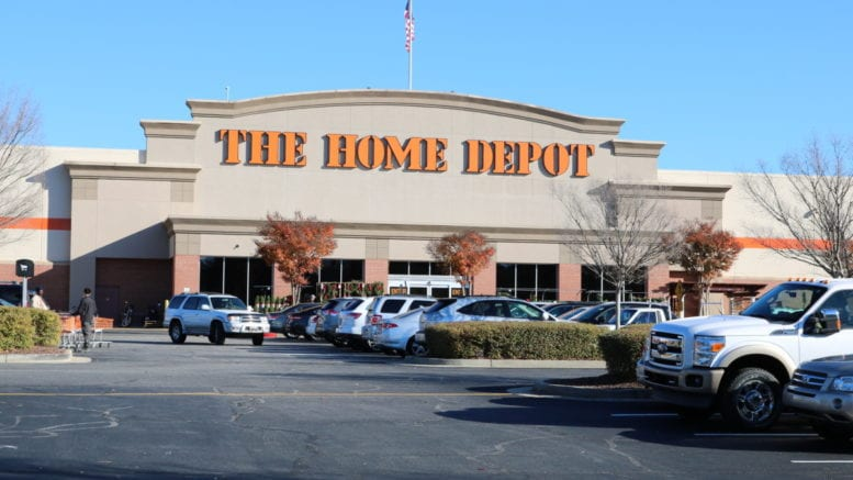 The Home Depot store on Cumberland Parkway in article about Home Depot acquires HD Supply