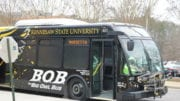 KSU bus in article about KSU union