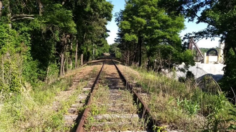 Some of the remaining Silver Comet track which might be part of the Silver Comet extension (photo by Haisten Willis)