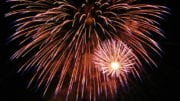 Independence Day fireworks in New Year article