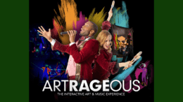 ArtsBridge poster for Artrageous (provided by ArtsBridge)