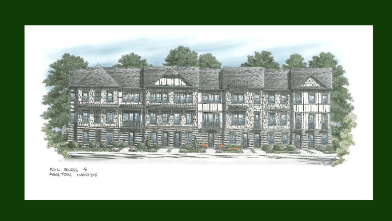 Riverview Landing Phase 2 townhouse renderings (from City of Smyrna website)