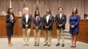 Cobb student participants in the Harvard Debate Council Diversity Project