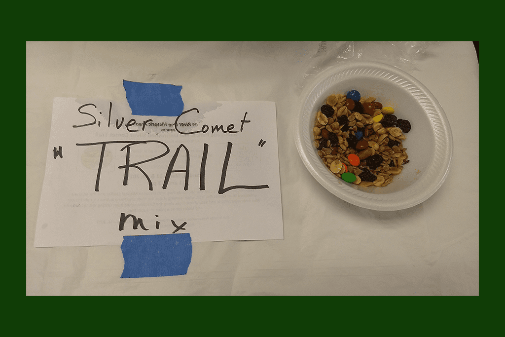 Silver Comet Trail mix in Connect the Comet meeting