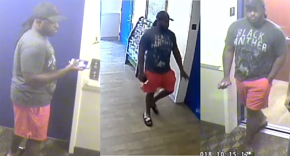 Photo of suspect in alleged sexual assault, from the Cobb County Police Department