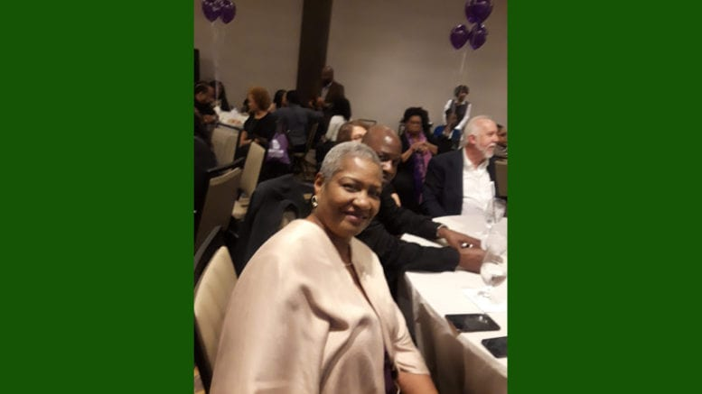 Abuse survivor and Marsy's Law supporter Waunchya Everett (photo by Angelia Pressley)