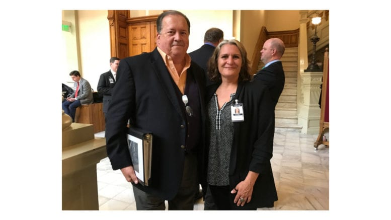Mark Goolsby and Jenifer Hilburn say they want Georgia Power to acknowledge the problem and move on to a solution on coal ash disposal