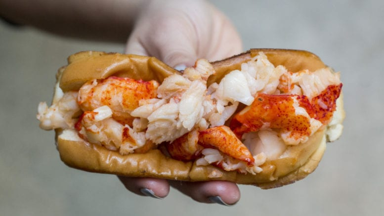 Cousins Main Lobster Connecticut Roll (photo courtesy of Cousins Maine Lobster)