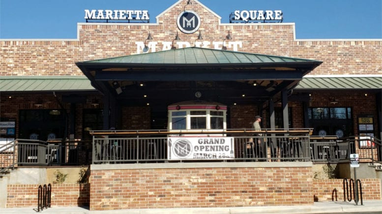 Exterior of Marietta Square Market (photo by Alex Patton)