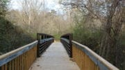 briidge over Nickajack Creek in article about Cobb PARKS 2020 SPLOST list