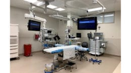 Operating room at the WellStar Outpatient Surgery Center in Acworth, Georgia.