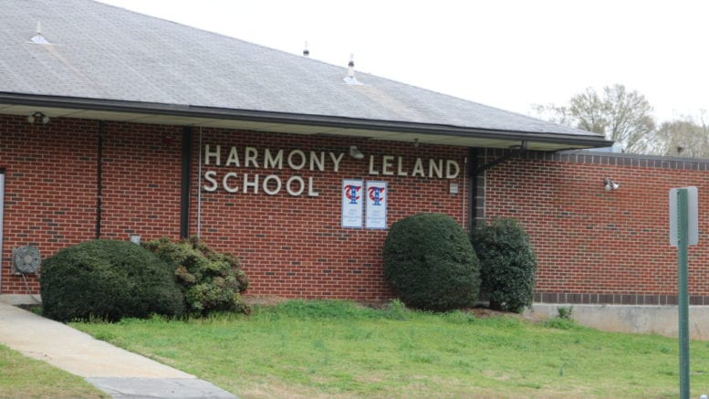 Harmony Leland Elementary School in article about raises for the Board of Education