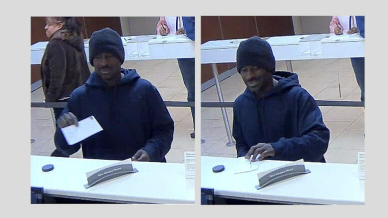 Suspect in bank robbery arrested