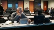 Cobb BOC Chairman Mike Boyce at the county's Emergency Response Center
