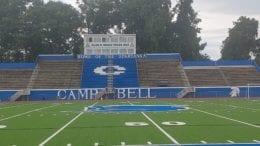 Campbell High School stadium in article about Newnan game