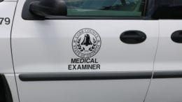 Cobb County Medical Examiner vehicle