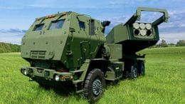HIMARS rocket launcher