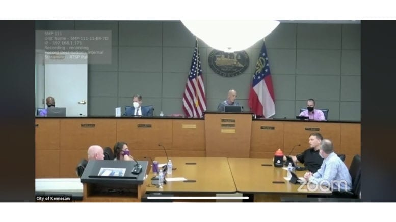 Kennesaw city council upates on mixed-use projects