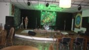 The Green Room stage