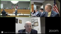 screenshot of Kennesaw City Council zoom meeting