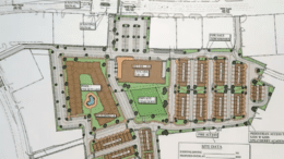 screenshot of Sprayberry Crossing site plan