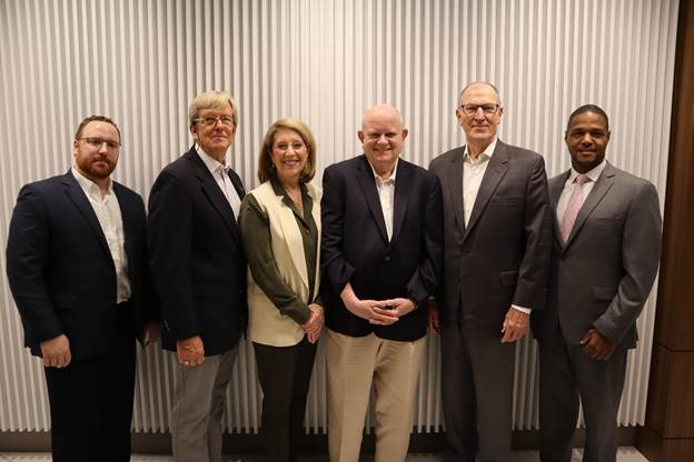 Cumberland CID Board Members, From left to right: Alex Valente, Bob Voyles, Connie Engel, John Shern, Barry Teague, and Chris McCoy. Not pictured: Mike Plant.
