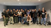 Group shot of POST members and BJJ instructors