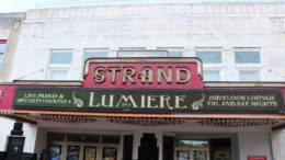 Marquee of the Strand Theater