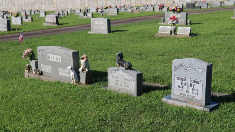 The Bagby family plot